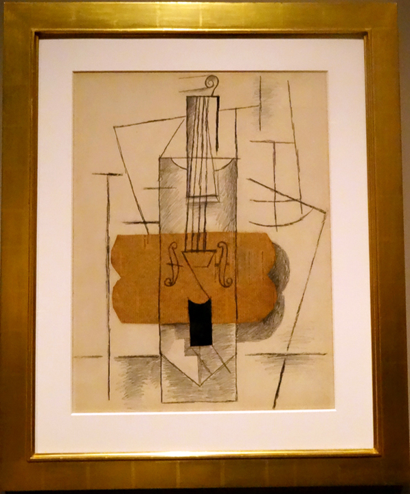 Violin by Picasso