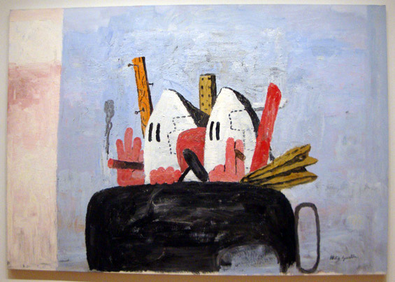 """Edge of Town"" by Guston"