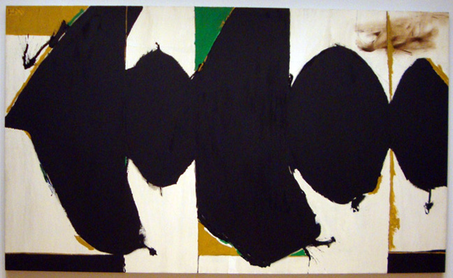 """Elegy to the Spanish Republic, 108"" by Motherwell"