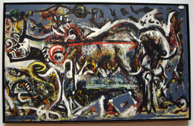 """The She-Wolf"" by Pollock"
