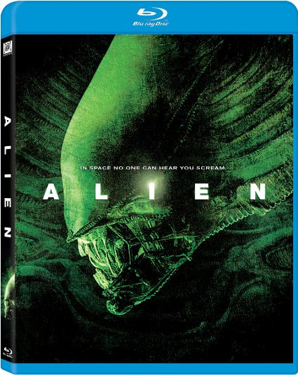 Alien blue-ray cover