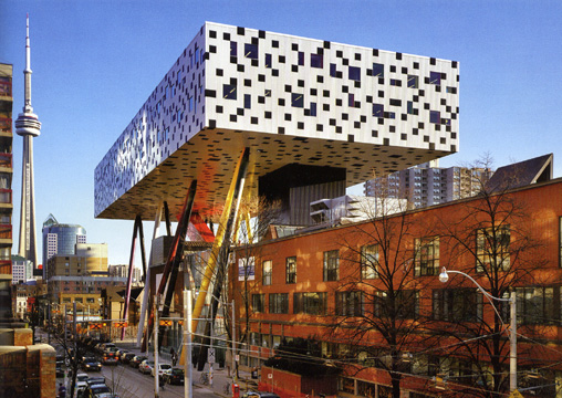 Sharp Center for Design, Toronto, by Alsop Architects