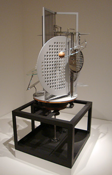 """Light prop for an electric stage"" by Moholy-Nagy"