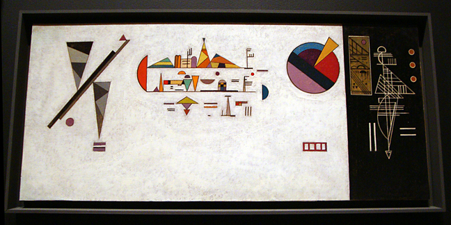 """Design for ceramic-tiled music room"" by Kandinsky"