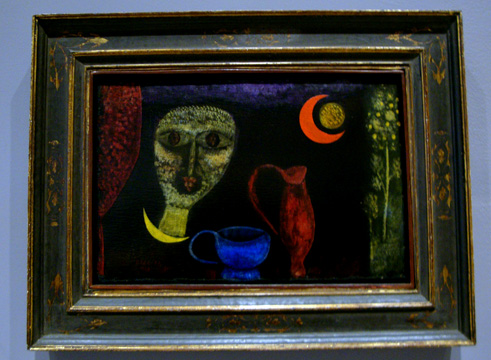 """Mystical ceramic in manner of still life"" by Klee"