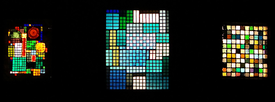 Glass works by Albers