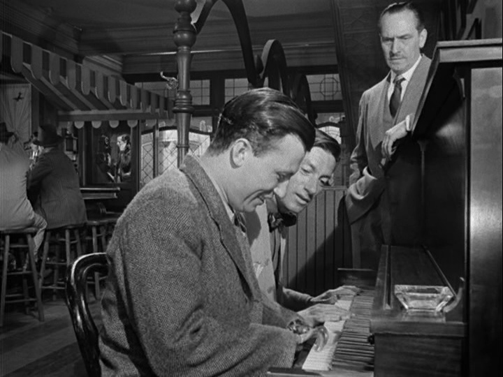 Carmichael plays duet with Harold Russell