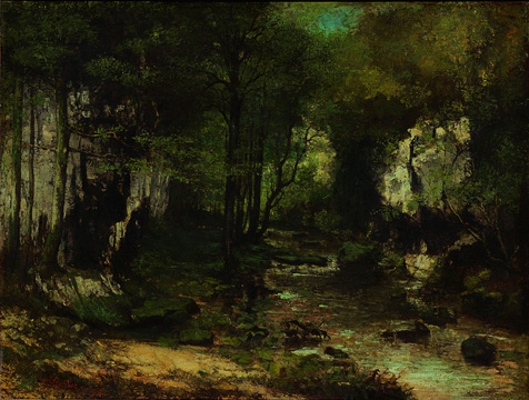 """The Shaded Stream at the Puits-Noir"""