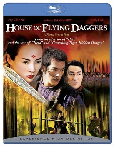 House of the Flying Daggers blue-ray
