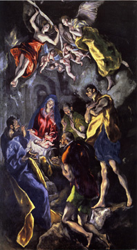 """The Adoration of the Shepherds"" by El Greco"