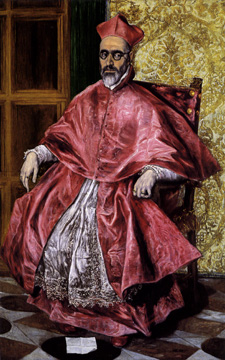 """A Cardinal (probably Nino de Guevara"" by El Greco"