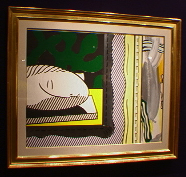 """Two Paintings, Sleeping Muse"" by Roy Lichtenstein"