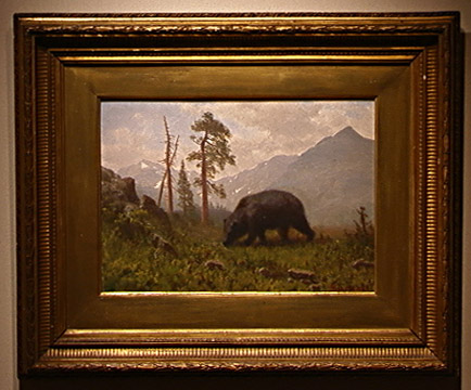 Grizzly Bear by Albert Bierstadt
