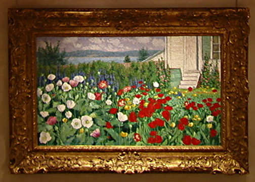 """Flower Garden at Annisquam"" by John Breck"