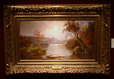River scene by Jasper Francis Cropsey