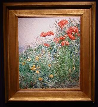 """Poppies, Appledore"" by Childe Hassam"