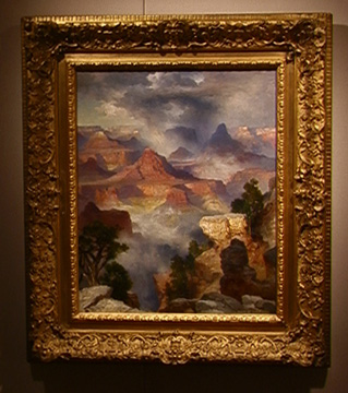 "Grand Canyon, Colorado River"" by Thomas Moran"