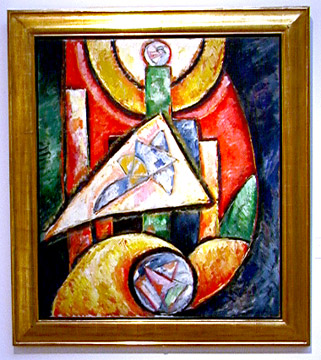 """Abstraction"" by Marsden Hartley"