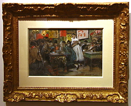 """Chinese Restaurant"" by Everett Shinn"