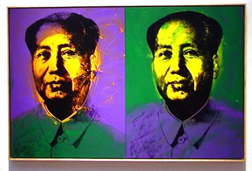 Double portrait of Mao by Andy Warhol