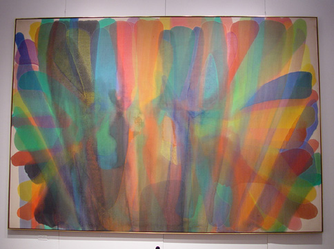 """Untitled"" by Morris Louis"