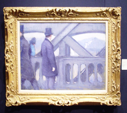 """Le pont d'Europe"" by Caillebotte"