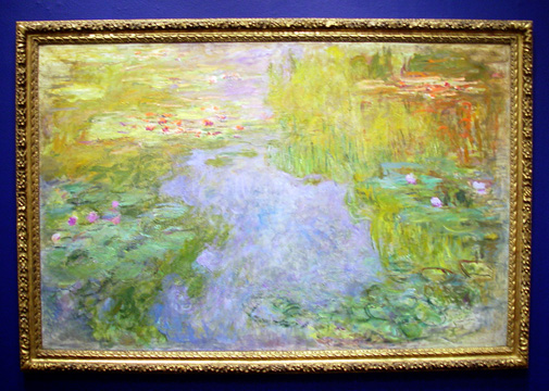 """Le Bassin Aux Nymphéas"" by Monet"