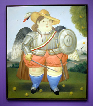 """Arcángel"" by Botero"
