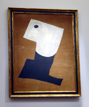 """Portrait"" by Miró"