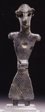 North Syrian silver deity