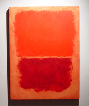 """Red, Dark Red on Red"" by Rothko"