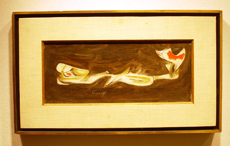 """Study for Agony"" by Arshile Gorky"