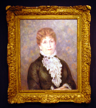 """Madame Fould"" by Renoir"