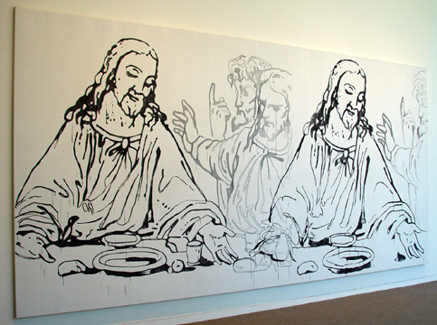 """Details of the Last Supper"" by Andy Warhol"