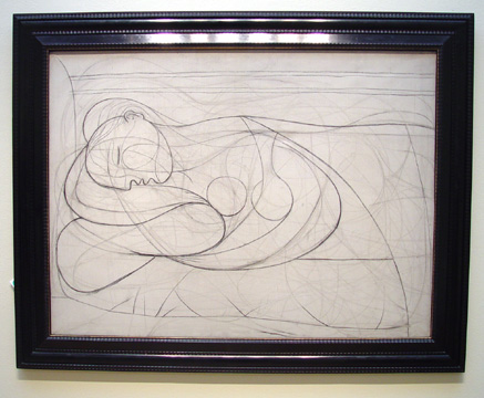 """Nu Couché"" by Picasso"