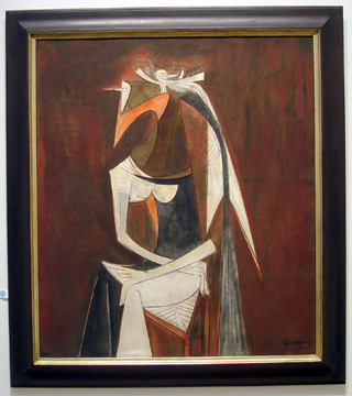 """Femme Cheval"" by Wilfredo Lam"