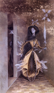 """Caminos Tortuosos"" by Remedios Varo"