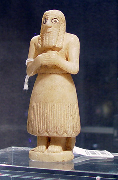Mesapotamian worshipper