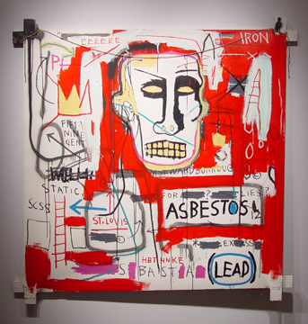 """Untitled"" by Basquiat"