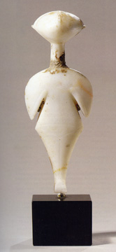 Marble Figure of a Goddess, Early Bronze Age