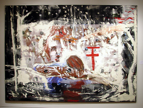 """Untitled (Painting in a Snow Storm"" by Schnabel"