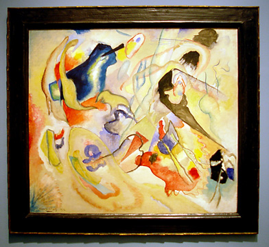 """Sketch for Deluge II"" by Kandinsky"