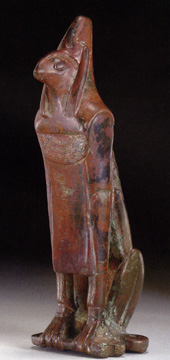Egyptian bronze of pantheistic deity