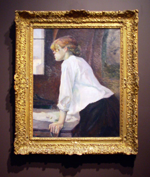 """La Blanchisseuse"" by Toulouse-Lautrec"