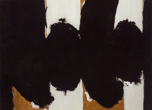 """Elegy to the Spanish Republic #122"" by Motherwell"