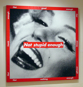 """Not Stupid Enough"" by Kruger"