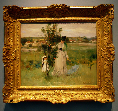 """Cache-Cache"" by Morisot"