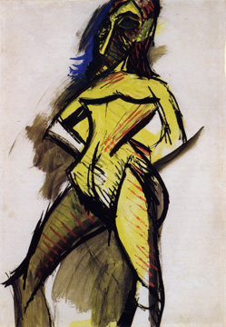 """Nu Jaune"" by Picasso"