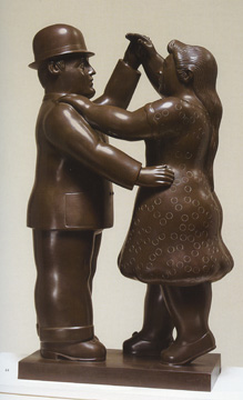 """Dancers"" by Botero"