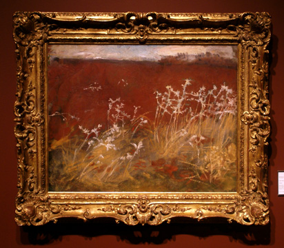 """Thistles"" by Sargent"